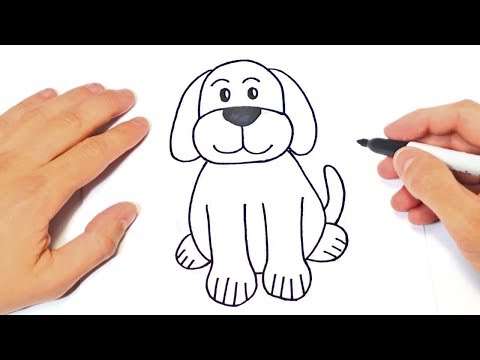 How to draw a Dog Step by Step | Dog Drawing Lesson