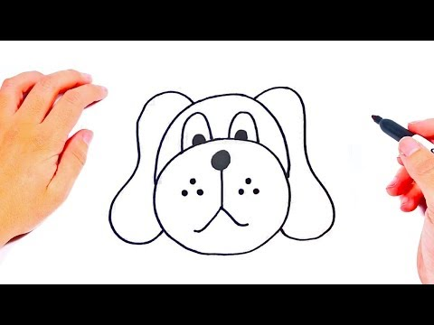 How to draw a Dog Step by Step | Easy drawings Tutorials