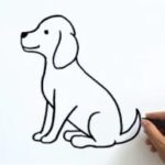 How to Draw a Dog Easy - 4 Different Ways